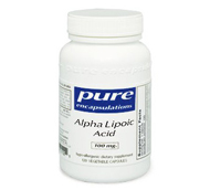 Pure Encapsulations Alpha Lipoic Acid 100 mg